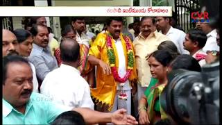 Talasani Srinivas Yadav Election Winning Celebrations at Marredpally | CVR News - CVRNEWSOFFICIAL