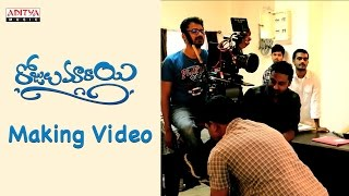 Rojulu Marayi Making Video    Chetan, Parvatheesam, Kruthika, Tejaswi Madivada - ADITYAMUSIC