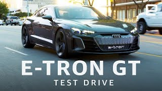 Audi E-Tron GT Test Drive - ENGADGET