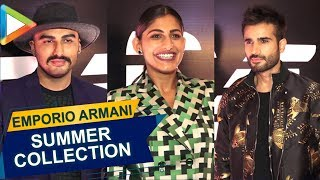 Arjun Kapoor, Kubra Sait & others at Launch of Emporio Armani's Summer Collection - HUNGAMA