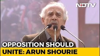 """""""Bengal Tigress' Call To Oust BJP Will Be Successful"""": Arun Shourie - NDTV"""