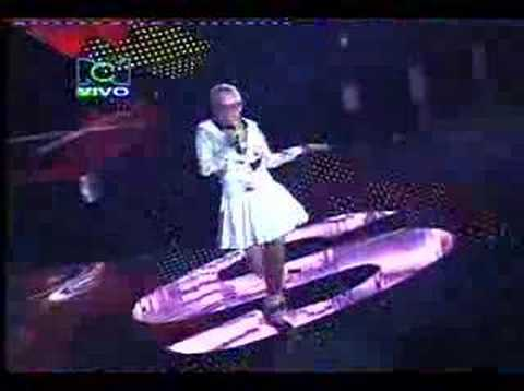 Greeicy Gala 7 parte 2 Factor Xs Colombia 2007