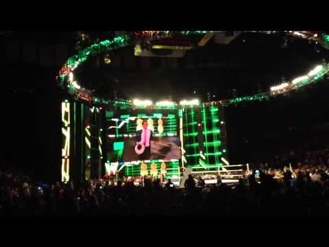 Smackdown In Detroit City Michael Cole and JBL Entrance (HD)