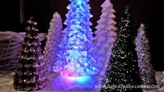 Mirrored christmas tree decorations acrylic mirror various designs
