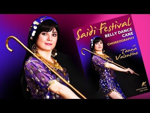 Saidi Festival - Belly Dance Cane Choreography with Tanna Valentine - Trailer