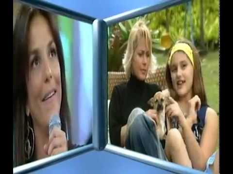 Sasha Meneghel e Xuxa fazem homenagem a  Ivete Sangalo no Faustão- 2005