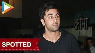 SPOTTED:Ranbir Kapoor at Alia Bhatt's house - HUNGAMA