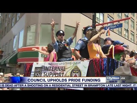 Video: City council votes against motion to pull Pride funding