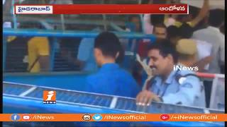 Medical Negligence Costs Student Life at HCU | Students Protest in University | Hyderabad | iNews - INEWS