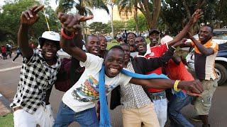 Celebrations in Zimbabwe after Mugabe resigns - WASHINGTONPOST