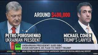 Unconventional arrangement? BBC gets sued over claims Ukrainian president paid to meet Trump - RUSSIATODAY