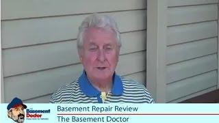 Customer Review | Basement Doctor Bowed Foundation Wall Repair U0026  Waterproofing | Columbus OH   YouTube