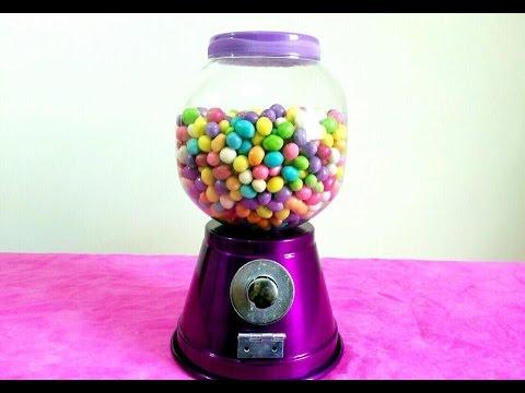 DIY: Candy Machine   Máquina de Doces por Kamila Macedo