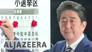 Japan's PM Shinzo Abe poised to win snap election - ALJAZEERAENGLISH