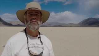 إكتشاف سر الصخور المتحركة في وادي الموت لأول مرة