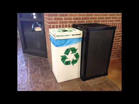 Recycling at IWU - Rachel