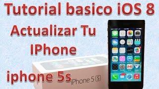 Tutorial y Gu?a de uso Iphone 5s parte 40 C?mo actualizar tu iPhone