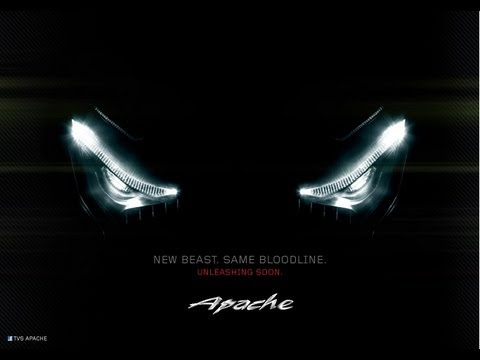 2012 TVS Apache New RTR 160 Hyper Edge - Scarily Fast- 2012 TVC