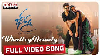 Whattey Beauty Full Video Song | Bheeshma Video Songs | Nithiin, Rashmika | Mahati Swara Sagar - ADITYAMUSIC