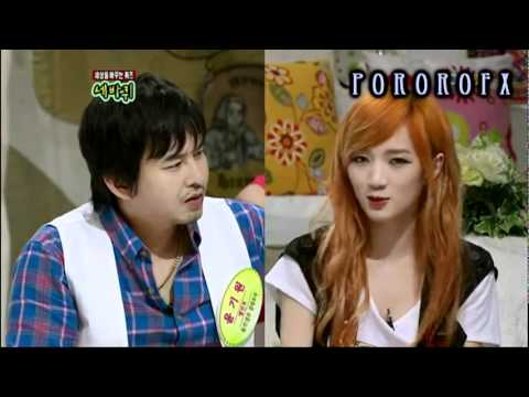 [110820] QTCTW Miss A Jia Speaking Chinese Battle FUNNY