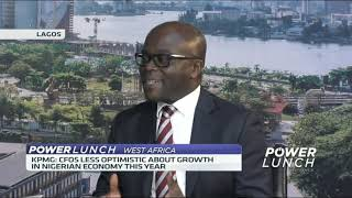KPMG survey shows Nigerian CFOs less optimistic on economy - ABNDIGITAL
