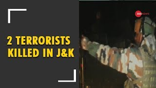 2 terrorists killed in encounter in J&K's Shopian - ZEENEWS