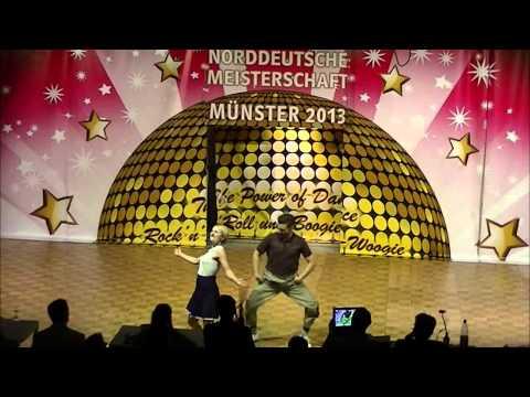 Regina Kuglstatter & Matthias Rein - Norddeutsche Meisterschaft 2013