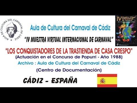 IV MUESTRA VIRTUAL - LOS CONQUISTADORES DE LA TRASTIENDA DE CASA CRESPO - AÑO 1988