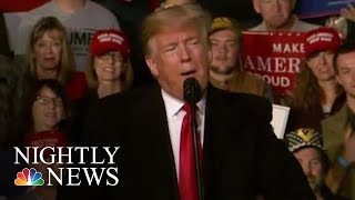 Trump Uses Immigration To Fire Up Republican Base Ahead Of Midterm Elections | NBC Nightly News - NBCNEWS