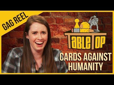 Cards Against Humanity - Gag Reel - TableTop Season 3 Ep. 10 (NSFW)