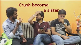 Crush become a sister || Comedy Short Film || Telugu Short Film - YOUTUBE