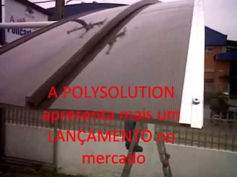 TElhas de Policarbonato CLICK - GARAGEM click - Menor preço -  polysolution