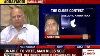 Voters to decide on Modi's Yeddyurappa gamble today - NEWSXLIVE