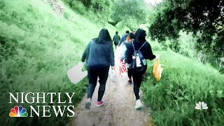 What Is Plogging? Growing Movement Of Joggers Picking Up Trash | NBC Nightly News - NBCNEWS