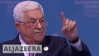Palestine president: US can no longer mediate peace process - ALJAZEERAENGLISH