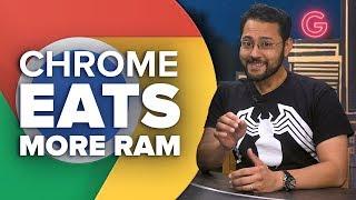 Chrome eats more RAM, but it's a good thing (Alphabet City) - CNETTV