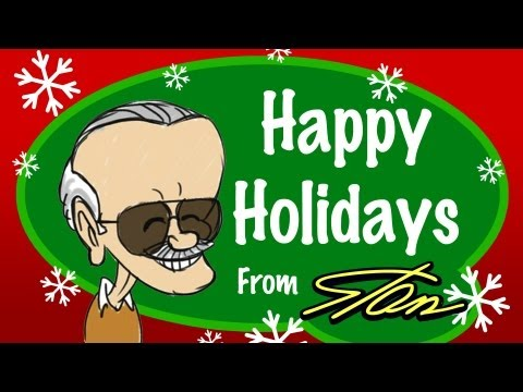 Happy Holidays from Stan Lee - World of Heroes