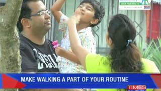 Walking for health - TIMESNOWONLINE