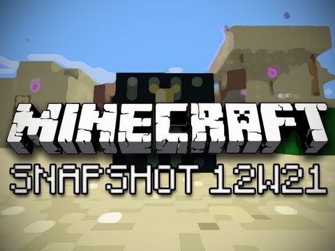 Minecraft: Desert Villages, Testificate Trading, and Enderchests (Snapshot 12w21 Part 1)