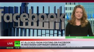 'Copyright used as pretext for censorship ' – fmr MI5 agent on new Facebook's policy - RUSSIATODAY