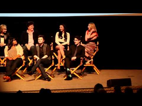 Heather Morris talks Brittany, Fondue for Two, and Lord Tubbington - Glee Academy Screening 2012