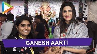 Aahana Kumra attends Ganesh aarti in Andheri - HUNGAMA