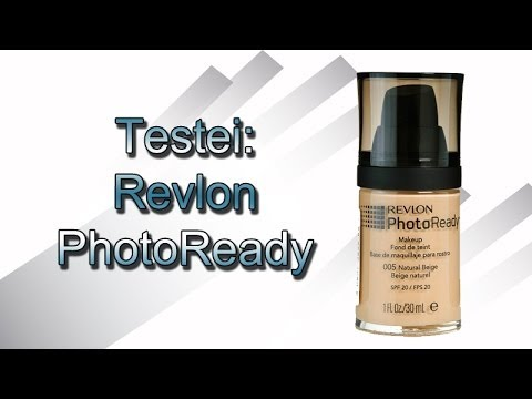 Testei - Base PhotoReady da Revlon