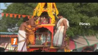 Sitaramula Rathotsavam In Gajwel | Siddipet | Telangana | iNews - INEWS