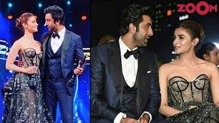 Alia Bhatt DECLARES her love for Ranbir Kapoor at Filmfare Awards 2019 - ZOOMDEKHO