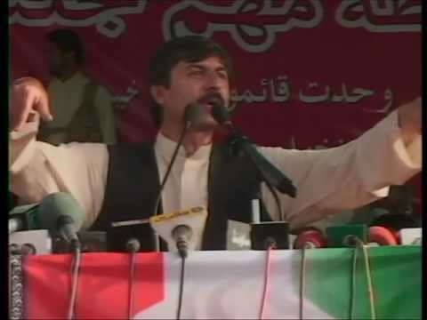 Usman Khan kakar 25th june 2012 Quetta full speech