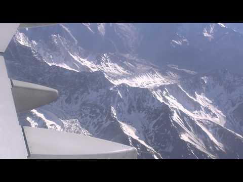 Cordilheira dos Andes vista do avião
