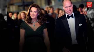 Here's why Kate Middleton didn't wear black at BAFTAs - TIMESOFINDIACHANNEL