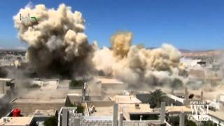 BarrelBombingCampaignIntensifiesinAleppo,Syria - WSJDIGITALNETWORK