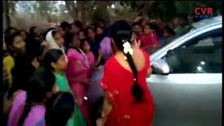Kasturba Gandhi Girl Students and Parents Protest in Kadiri | CVR News - CVRNEWSOFFICIAL